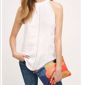 Tops - Anthropologie cloth and stone white linen top